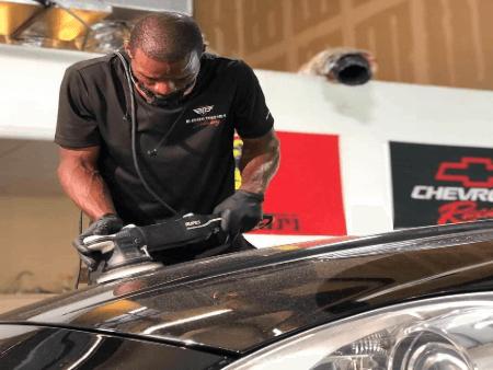 Ceramic coating installer